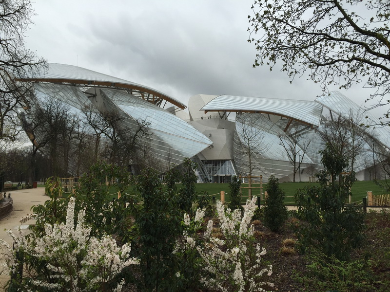 Fondation Louis Vuitton Gehry