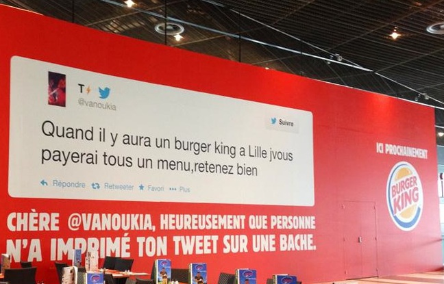 Burger King à Lille